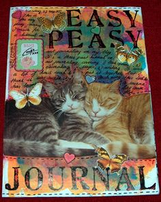 Easy Peasy Journal Tutorial - Part three: writing - excellent take on what to write about in a journal.