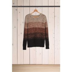 Levis Made And Crafted Gradual Crew Brown Bronze Winter Jumper