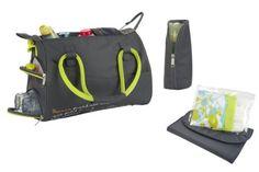 c0b0ae02acf2 Un design compact et urbain pour le sac à langer Bowling Baby Changing  Bags, Bowling