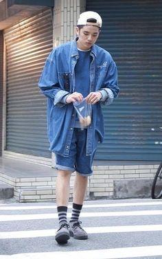 適合丹寧、嘴饞、街頭、變態、棒球帽、牛仔外套、餅乾、厚底鞋、HERSCHEL SUPPLY CO.、HELLO PHOEBE、 UNDERGROUND的穿搭