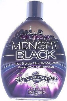 Midnight Black Bronzer Dark Indoor Tanning Lotion by Tan Inc Tan Asz U 135 Oz 400 Ml * Learn more by visiting the image link. (This is an affiliate link) Indoor Tanning Lotion, Tanning Products, Lotions, Bronzer, Cali, Image Link, Adidas, Sun, Black