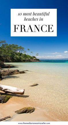 10 Best Beaches in France. Blessed with a staggering amount of coastline, it's n… 10 Best Beaches in France. Blessed with a staggering amount of coastline, it's no surprise France has some of the best beaches in Europe. Road Trip France, France Travel, Best Beaches In Europe, Beaches In The World, Antibes, Destin Beach, Beach Trip, Beach Travel, French Beach