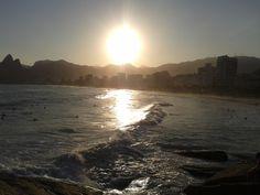 Arpoador - Rio de Janeiro / RJ - #sunset #riodejaneiro #brasil