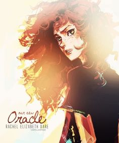 Rachel Elizabeth Dare. She's honestly one of my favorite characters. I love her personality so much!