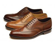 Premium brogue shoe, made in England.