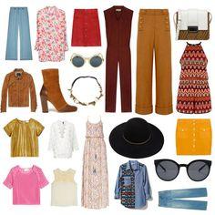 Mode année 70 : on craque pour la tendance de la saison, la mode seventies - Elle