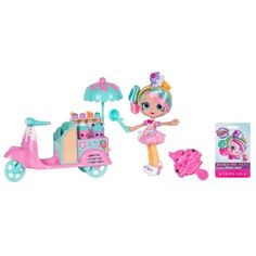 Shopkins Shoppies Gelati Scooter Playset