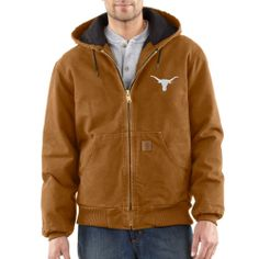 NCAA Texas Longhorns Men's Quilted Flannel Lined Sandstone Active Jacket - http://www.amazon.com/dp/B00BQTK5MM/?tag=pinterest0e50-20