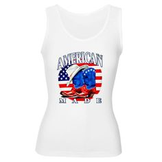 Good Artsmith, Inc. Women's Tank Top American Made Country Cowboy Boots and Hat
