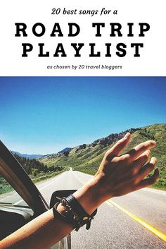 The ultimate road trip playlist or your road trip anywhere in the world. This road trip playlist was chosen by 20 travel bloggers from across the globe. What song do you listen to on your road trips?
