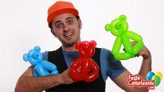 balloon bear, how to make a Teddy Bear with balloon. Palloncino orsetto, palloncino orso, sculture di palloncini, orsetto pallonicino, tutorial sculture palloncini.