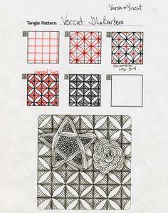 Tangle Pattern: Vercut