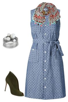 """""""Untitled #4"""" by sunnysideup-xd on Polyvore featuring Engineered Garments and Gianvito Rossi"""