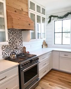 """Cement Tile Shop on Instagram: """"We love this cute little backsplash over the stove using the in stock Madison pattern. #Repost @modernfarmhousefor5 ・・・ The last Christmas…"""""""