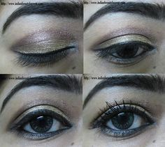 Neutral Indian Eye makeup Tutorial