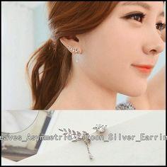 Cute Earrings, Beaded Earrings, Diamond Earrings, Hoop Earrings, Earring Crafts, Ear Jewelry, Cheap Fashion, Sterling Silver Earrings, Studs