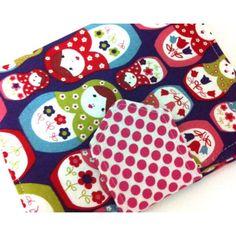 #ladybird2turtle #pinadayoct #oldergirls $20.00 Babushka crayon wallet by HarlowDesigns on Handmade Australia