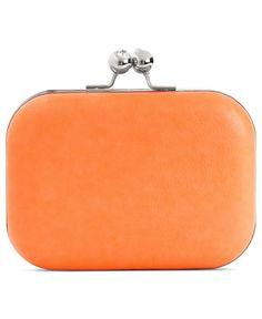 Sasha Handbag, Neon Minaudière Evening Clutch - Clutches & Evening Bags - Handbags & Accessories - Macy's