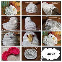 Crochet Birds, Easter Crochet, Crochet Doilies, Tatting Tutorial, Easter Egg Crafts, Halloween Crochet, Bird Crafts, Weaving Patterns, Knitting Projects