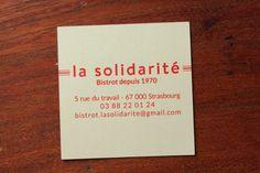 La solidarité * Strasbourg