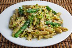 Pistachio Asparagus Pesto on Penne 500