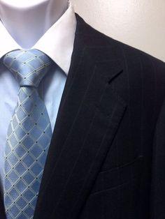 $2495 Ermenegildo Zegna Wool & Cashmere 42R men's suit, Price : $89.95