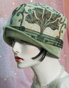 1920s Vintage Inspired  Cloche Hat  Great Gatsby by aileens4hats, £40.00