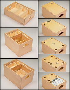 For Key Grips, Some Choice Gear: Ben Mesker's Modular, Portable Jokerbox Storage System - Core77