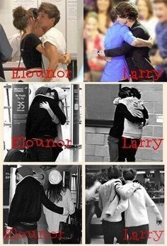 Can you see the difference of Love?. #LarryIsLove #TrueLove