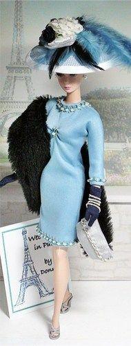 """""""A Weekend in Paris or Perhaps Longer"""" ...... for Silkstone Barbie"""