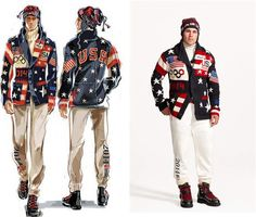 The 2014 USA Olympic opening day uniform