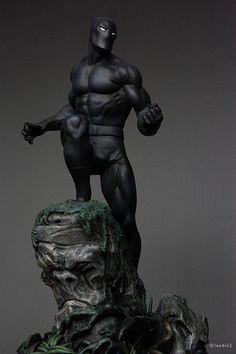 Black Panther Classic | Statue | Bowen Designs Marvel Comics