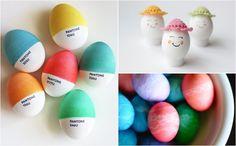 15 вариантов превращения обычных яиц в потрясающее пасхальное украшение