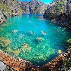 Kayangan Lake, Palawan, Philippines, photo by @jaypeeswing