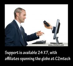 Support Available - Support is available 24*7, with affiliates spanning the globe at C2mtech  http://c2mtech.com/refurbished.html