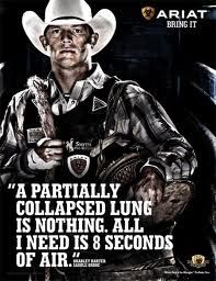 i like to relate bull riding to my running, dont judge. haha