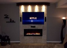 Amazon.com: Napoleon EFL50H Linear Wall Mount Electric Fireplace, 50-Inch: Home
