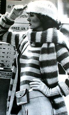 1974-75 - Sonia Rykiel, Knitting ensemble