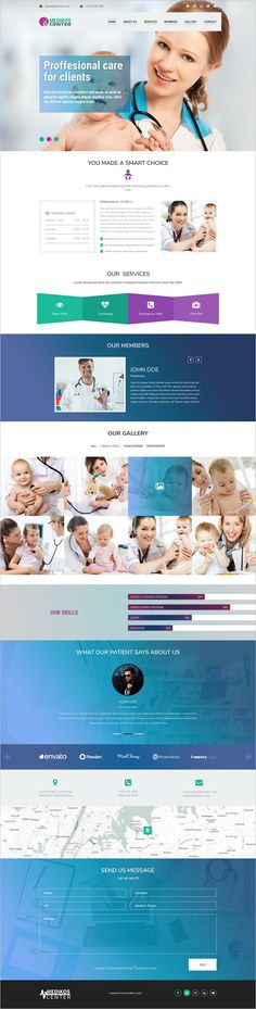 MediKos Center is a clean and modern design #Photoshop Template for #webdev #Medical and Healthcare service landing page website download now➩ https://themeforest.net/item/medikos-center-medical-and-health-psd-landing-template/19033255?ref=Datasata