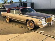 Donk Cars, Cadillac Fleetwood, Poppy, 4x4, The Past, Lincoln, Badass, Sick, Automobile