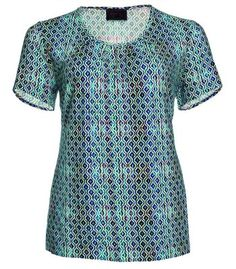 Shirt für Damen in Türkis von Sempre Piu by Chalou – Bild 1