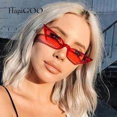 09a251d7232 2018 New Female Vintage Cat Eye Sunglasses Women Designer Fashion Retro