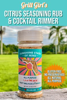 An all purpose bbq rub that can also be used as a cocktail rimmer. This rub is gluten free, no preservatives and all nautral! #glutenfree#nopreservatives#grillgirlrecipes#bbqrubs Texas Brisket, Texas Bbq, Grilled Brisket, Smoked Brisket, Grilling Tips, Grilling Recipes, Meat Recipes, How To Cook Brisket, Green Egg Recipes