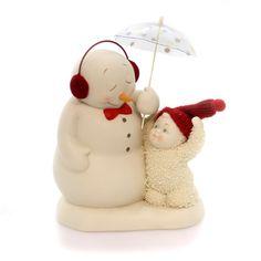 Dept 56 Snowbabies I've Got You Covered Christmas Figurine