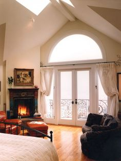 French Door Curtains Design, Pictures, Remodel, Decor and Ideas - page 6