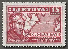 Description Lithuanian Air Post stamp Mi-405 (1936).jpg