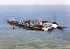 """Messerschmitt Bf 109 """"EADS does such a good job of honouring this manufacturer. They have done amazing work on being the support group for the recreated Me 262s. Very impressive. Their Komet recreation is also a sensation."""" KB"""