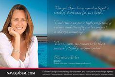 Marina Huber Director - Quinta Mãe dos Homens