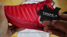 862f56f9d5 Sepatu Futsal Nike Tiempox Proximo II IC University Red White Black 8977...  University
