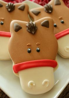 Great cookies for a visit to the farm or a birthday party.